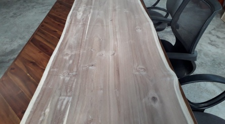 Unfinished Acacia Wood Slab